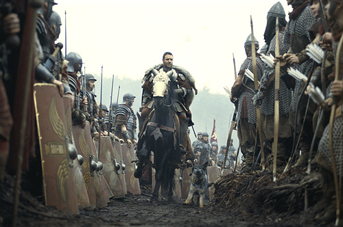 Cena Filme Gladiador Cavalo