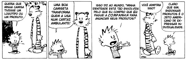 Calvin e Haroldo (Calvin & Hobbes) Licenciamento