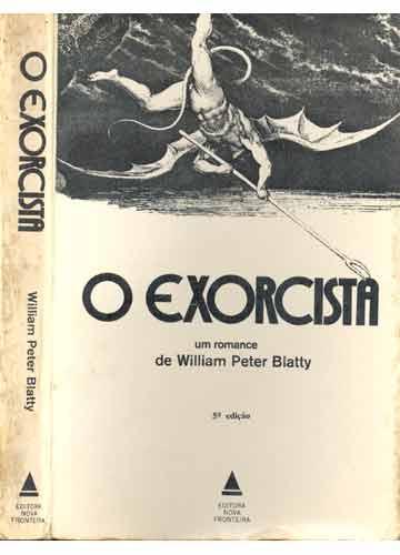 capa do livro Exorcista